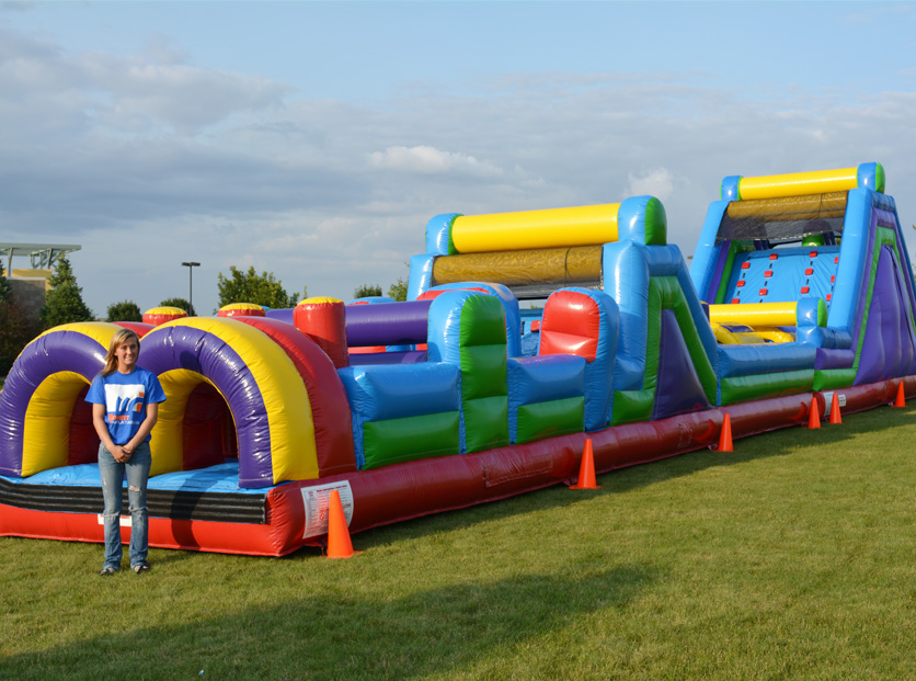 70 ft. Obstacle Course