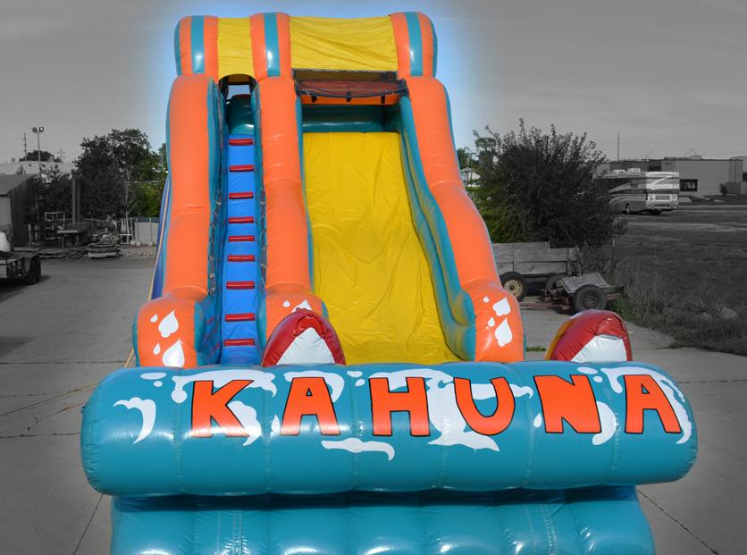 Kahuna slide midwest inflatables