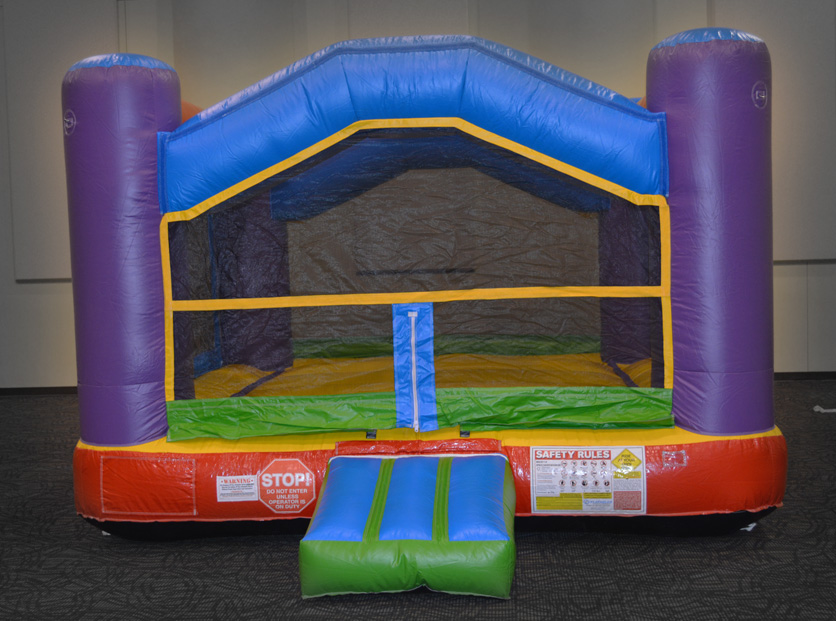 Space-Saver Bounce House