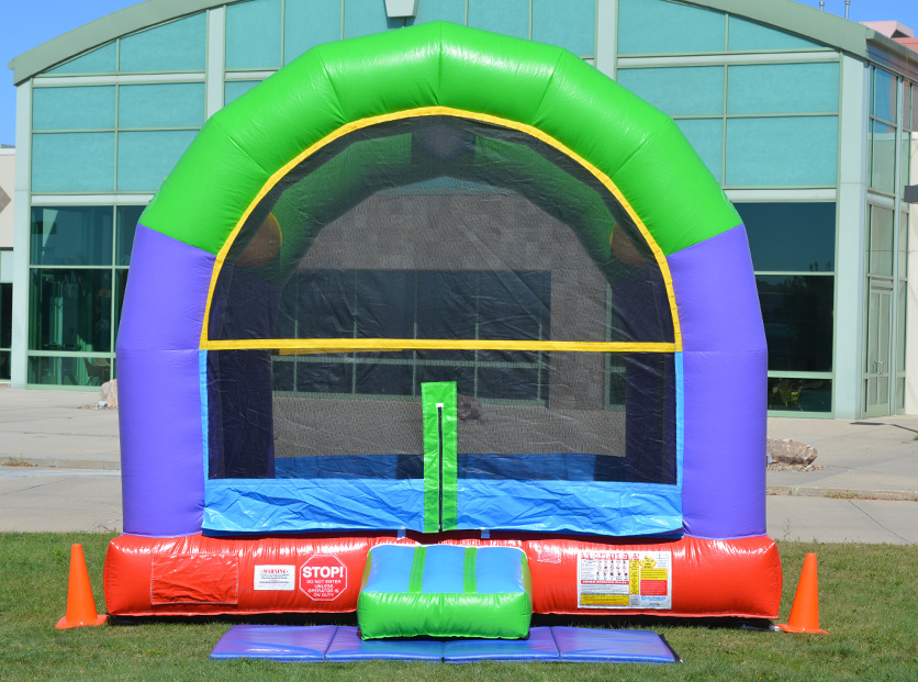 Wacky Arched Bounce House